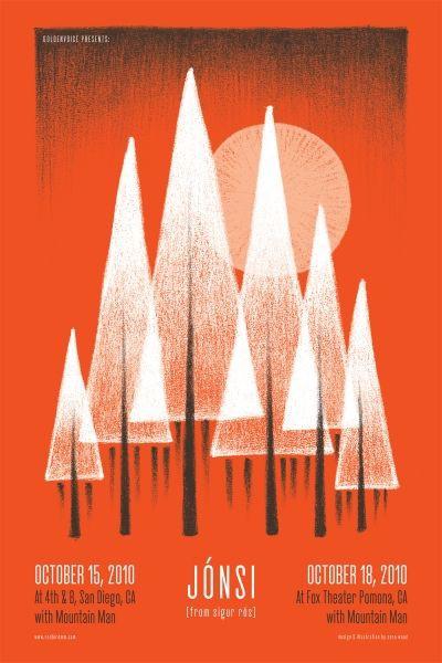 16款国外演出海报设计