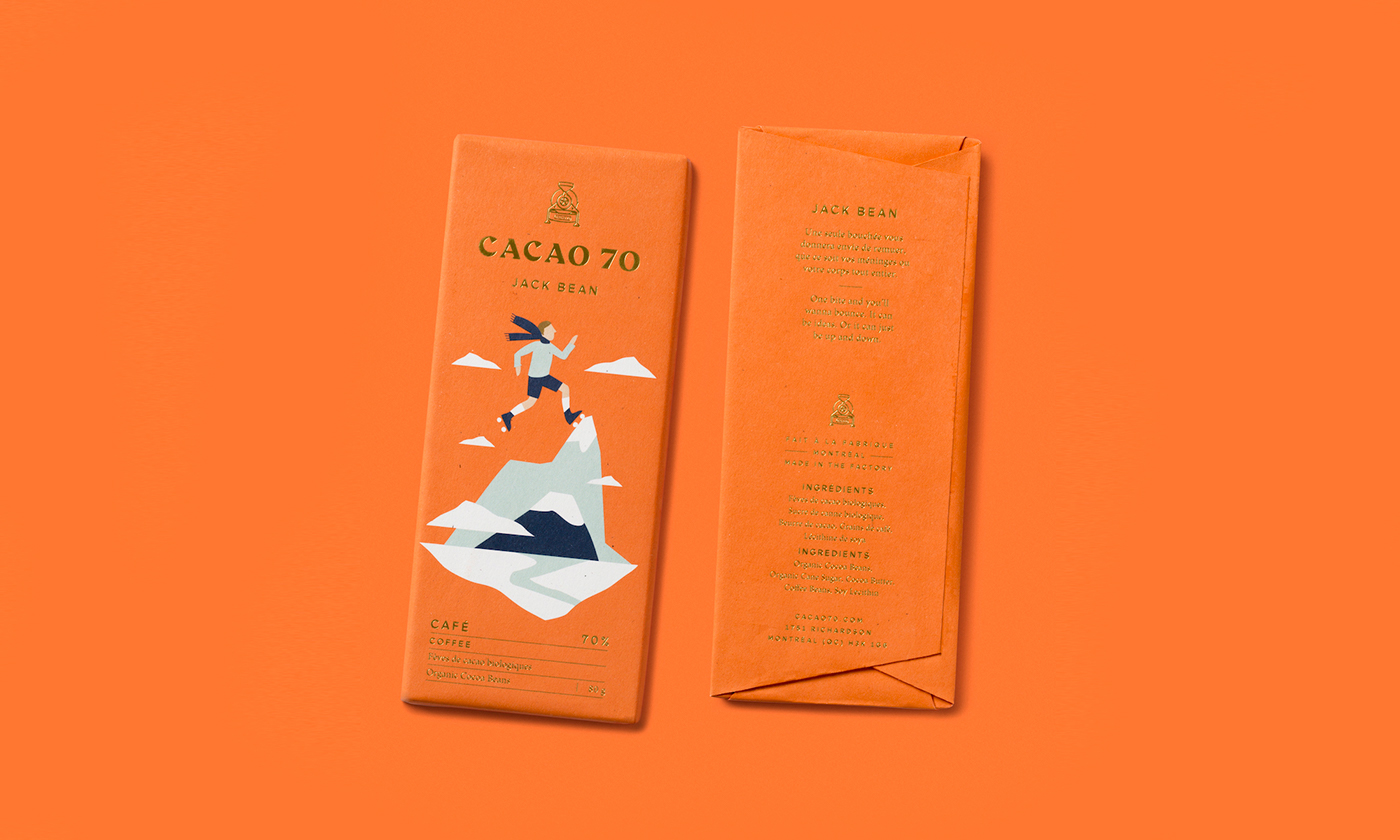 Cacao 70巧克力包装设计
