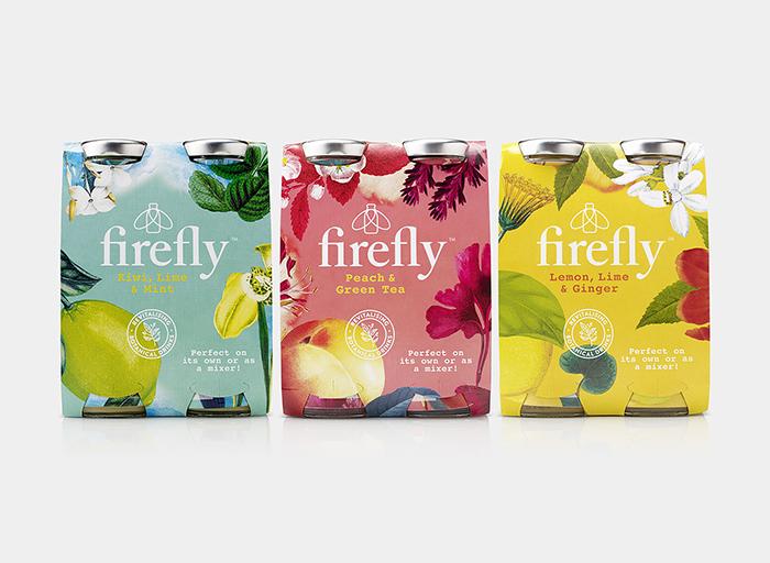 Firefly果汁包装设计
