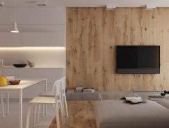 紧凑布局的小户型公寓设计