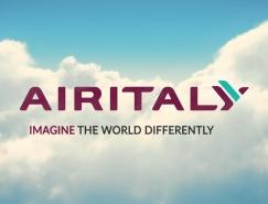 意大利航空Meridiana更名为Airitaly并推出新LOGO