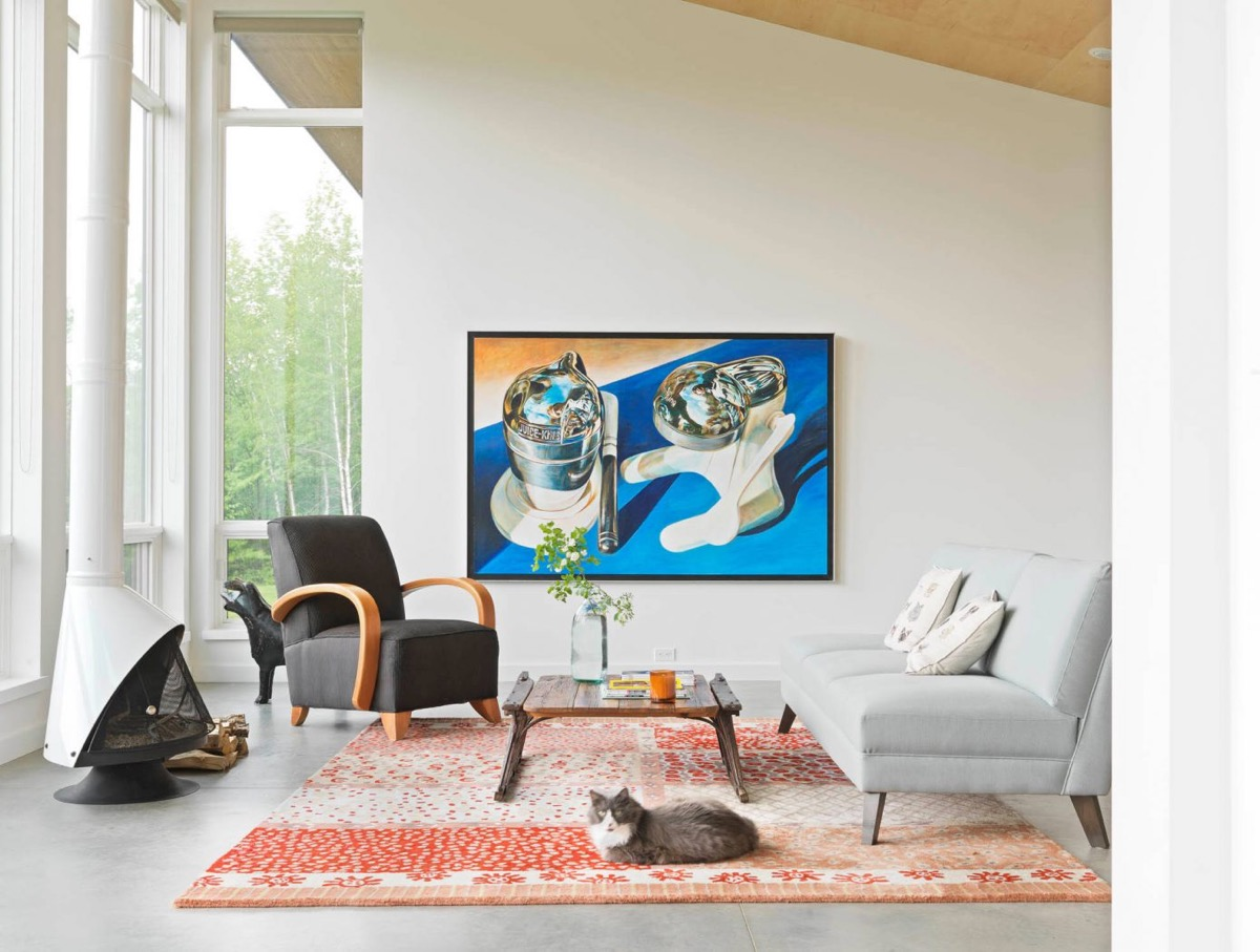 30个a压铸放松的压铸系蓝色装修设计(3)客厅铝合金模具设计图片