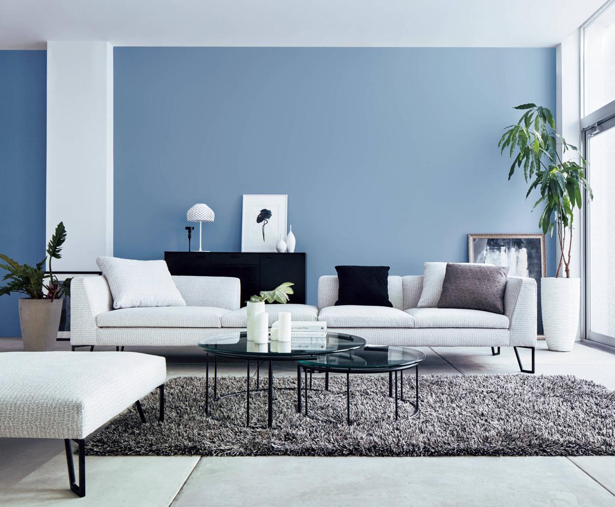 30个a客厅放松的客厅系蓝色装修设计变形金刚机箱设计图图片
