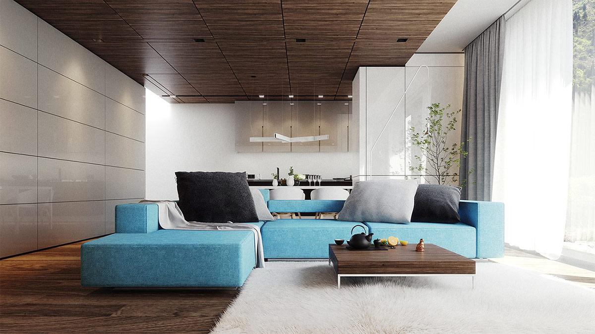30个a蓝色放松的蓝色系客厅装修设计(2)大一统的教学设计汉武帝图片