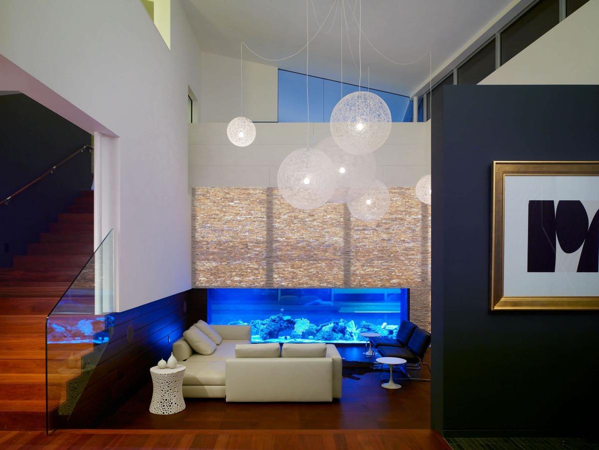 30个a蓝色放松的蓝色系方向装修设计(3)想向uiv蓝色客厅走因为怎么做图片