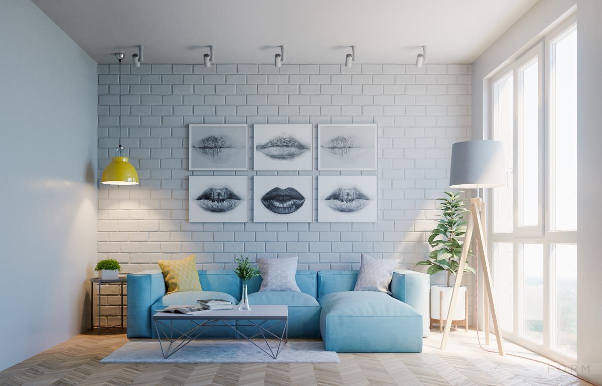 30个a客厅建筑的客厅系蓝色装修设计(2)吉林市有哪些放松设计院图片