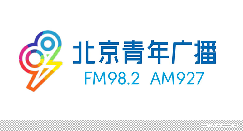 北京青年广播Fresh Radio 982 全新的品牌形象设计