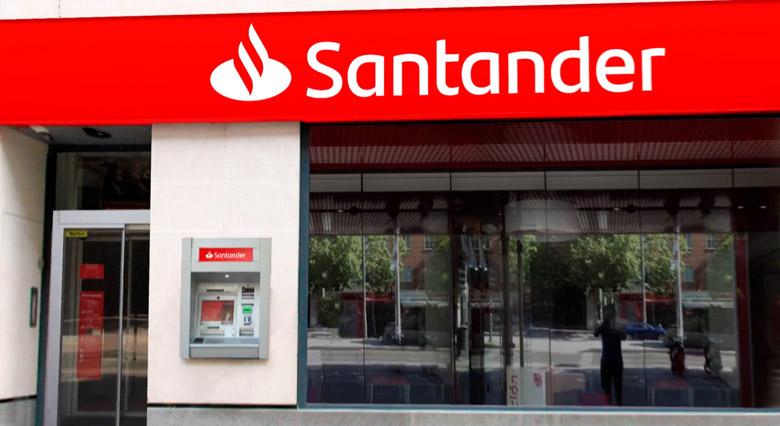 欧洲第二大银行桑坦德银行(Santander)启用新LOGO