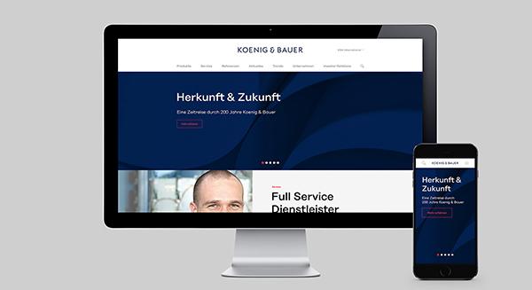 全球第二大印刷机制造商Koenig&Bauer更新品牌形象