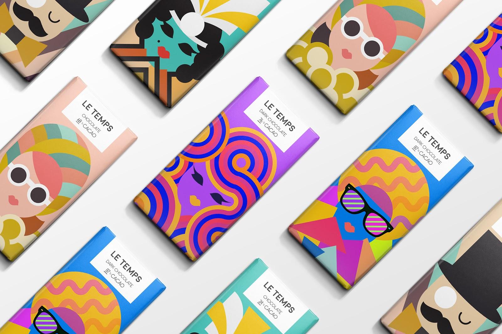Le Temps巧克力包装设计