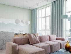 3个柔和色彩搭配的家居装修设计