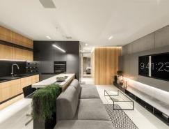 65平超现代感小公寓装修设计