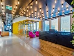 软件公司Sentinal One办公室设计