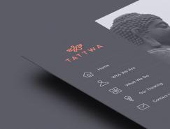 Tattwa极简风格品牌视觉形象设计