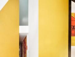 旋转的方盒子—巴塞罗那TIBBAUT复式住宅