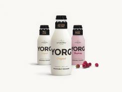 YORG酸奶品牌视觉形象设计