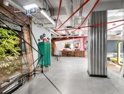 华沙时尚创意的联合办公空间设计