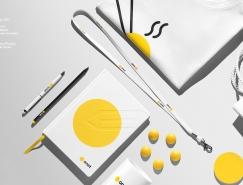 極簡風格的Onet品牌VI設計