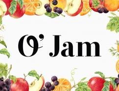 O' Jam果酱包装设计