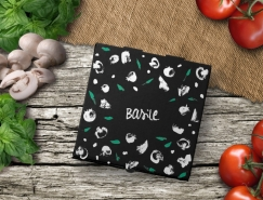 Basile比薩餐廳品牌和包裝設計