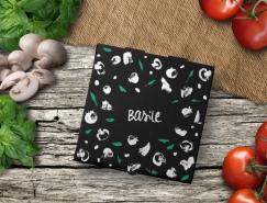 Basile比薩餐廳品牌和包裝