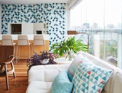 巴西圣保罗260平米AML公寓翻新装修设计
