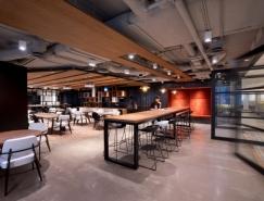 万豪国际Marriott香港办公室空间设计