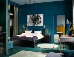 宁静的睡眠空间:30个漂亮的蓝色卧室皇冠新2网