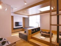 轴|居 现代简约风格住宅空间设计