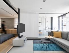 皇冠新2网师的46平米小公寓开放式空间装修皇冠新2网