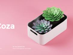 巴西塑料产品领导品牌Coza的网站设计欣赏