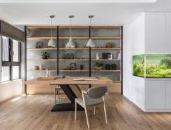50个现代家庭办公室设计
