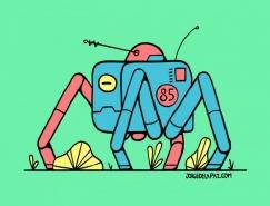 Jorge De la Paz漂亮的创意插图设计