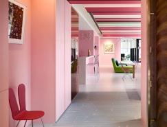 靠近艺术的另一种方式:台湾缤纷色彩的创意住宅设计