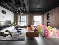 超酷工业风格的住宅装修设计