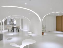 晴·禾之家 200平米内构建6个穹顶界定新空间