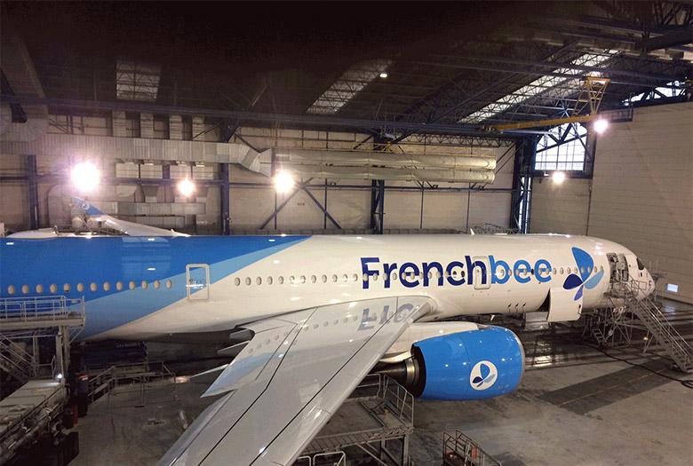 """法国蓝色航空(French Blue)更名""""French bee""""并修改品牌LOGO"""