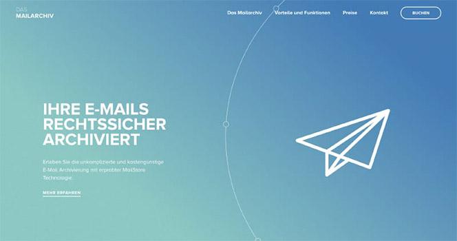 35个漂亮的单页面网站设计欣赏