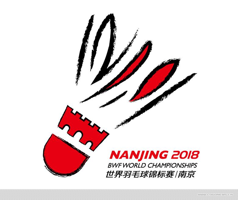 2018年道达尔·世界羽毛球锦标赛会徽正式发布