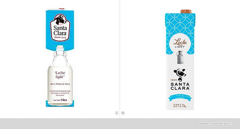 可口可乐旗下品牌Santa Clara重塑品牌形象,推出新LOGO和新包装