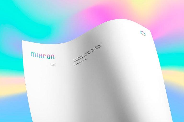 俄罗斯半导体制造商Mikron品牌VI设计
