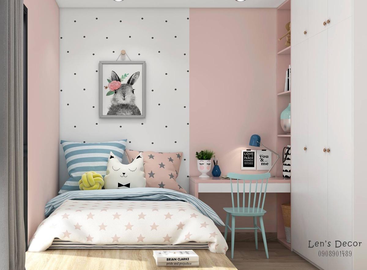 40个可爱粉色儿童房设计