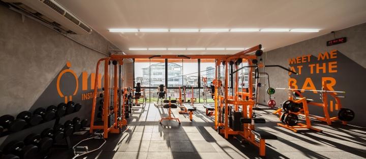 曼谷M FITNESS健身中心室内空间设计