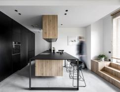 现代舒适的极简风格小公寓设计