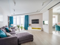 明媚阳光的配色方案:漂亮现代的家居装修设计