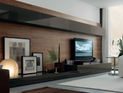 50個漂亮的客廳電視背景墻設計