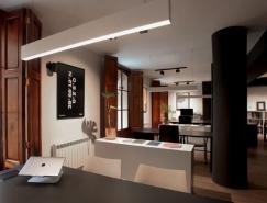 极简的黑白组合:西班牙皇冠新2网工作室VXLAB办公空间