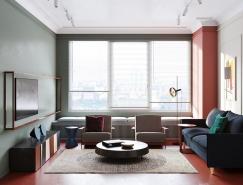 充满艺术气息的莫斯科现代住宅室内设计