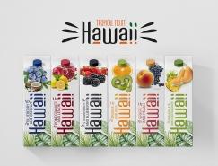 Hawaii果汁包裝設計