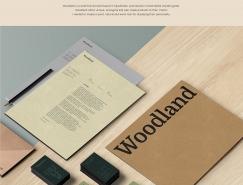 Woodland branding品牌形象设计